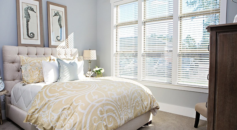 Bedroom at Palladian Place Apartments in Durham